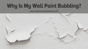 Wall Paint Bubbling